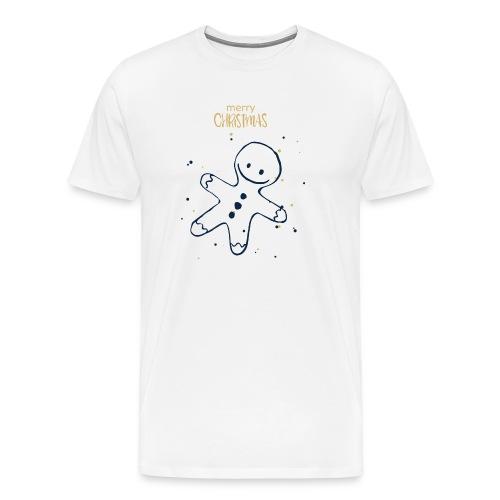 Weihnachten Plätzchenfigur - Männer Premium T-Shirt