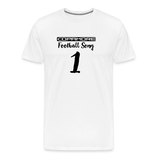 Football Song #1 international by COPAMORE - Männer Premium T-Shirt
