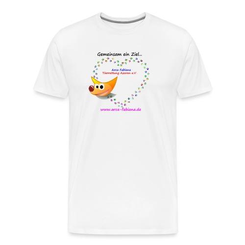 Arca Fabiana bunte Hunde - Männer Premium T-Shirt