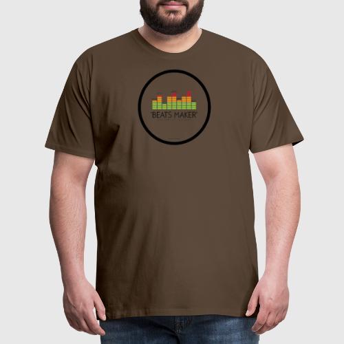 BEATS MAKER - Herre premium T-shirt