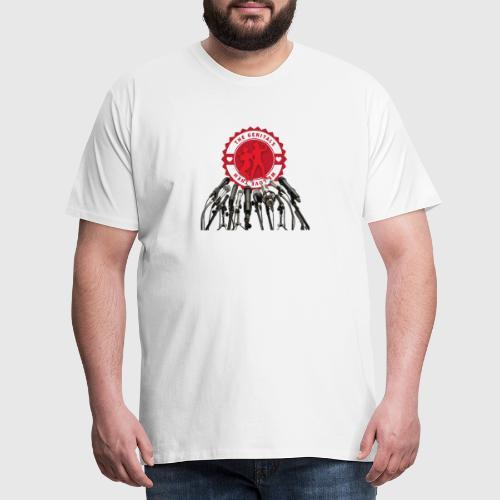 THEGENITALS - Herre premium T-shirt