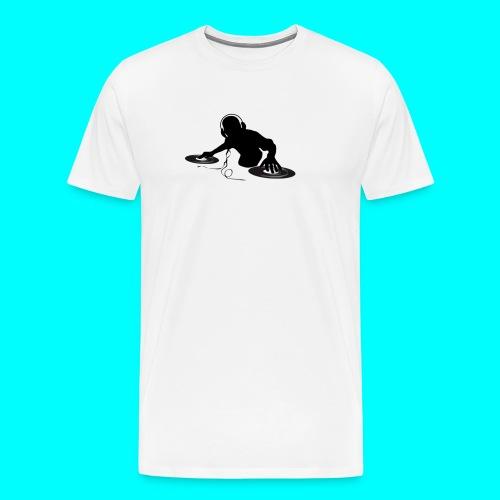 Dj Schwarz Weiß - Männer Premium T-Shirt