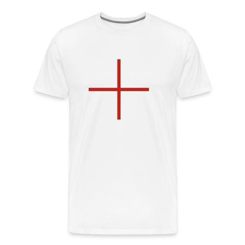 Croix Saint Georges petite - Anglais dès 1277 - T-shirt Premium Homme