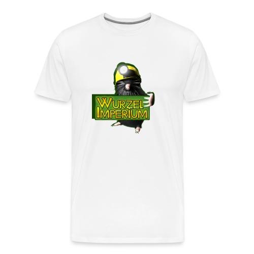 Wurzelimperium Maulwurf - Männer Premium T-Shirt