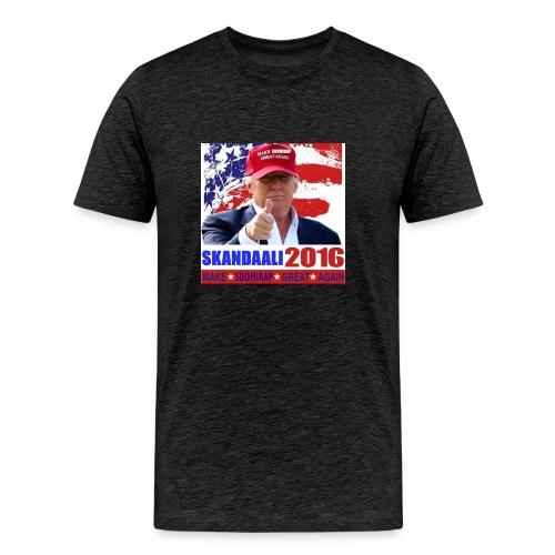 Skandaali 2016 - Miesten premium t-paita
