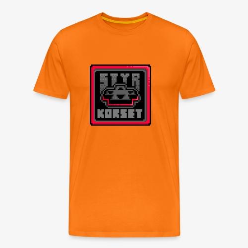styrkorset png - Premium-T-shirt herr