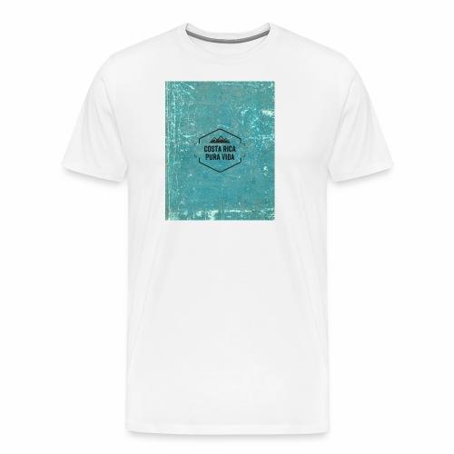 Costa Rica Camiseta Vintage - Camiseta premium hombre