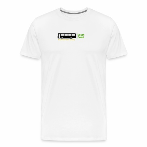 South Coast Bus Preservation Society Logo - Men's Premium T-Shirt