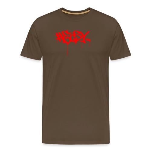 #EASY Graffiti Logo T-Shirt - Maglietta Premium da uomo