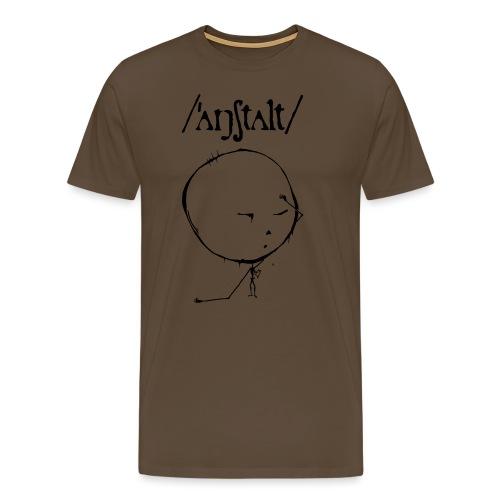 logo mit kreisling - Männer Premium T-Shirt