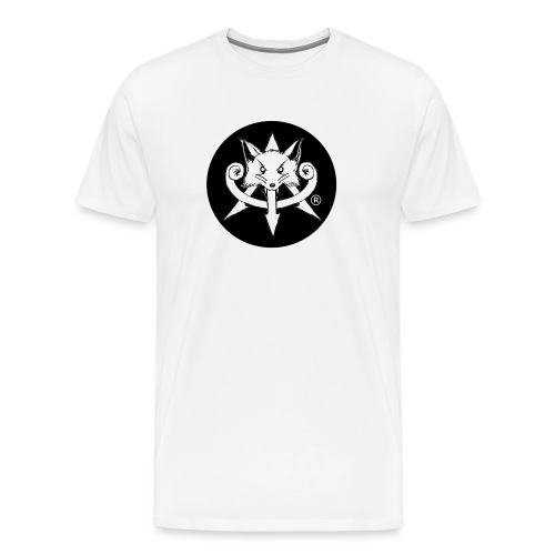 Official Attention Logo Merch - Men's Premium T-Shirt
