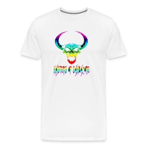 mos2 png - Mannen Premium T-shirt