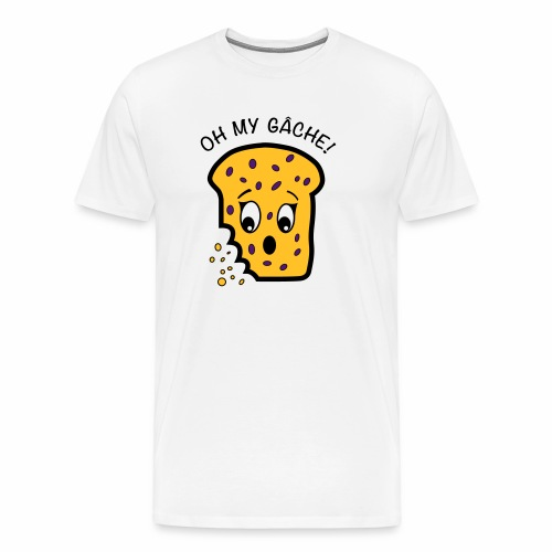 Oh My Gâche! Guernsey Mother's Day Design - Men's Premium T-Shirt