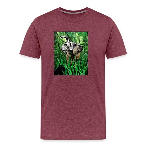 Waldelefant in Afrika - Männer Premium T-Shirt