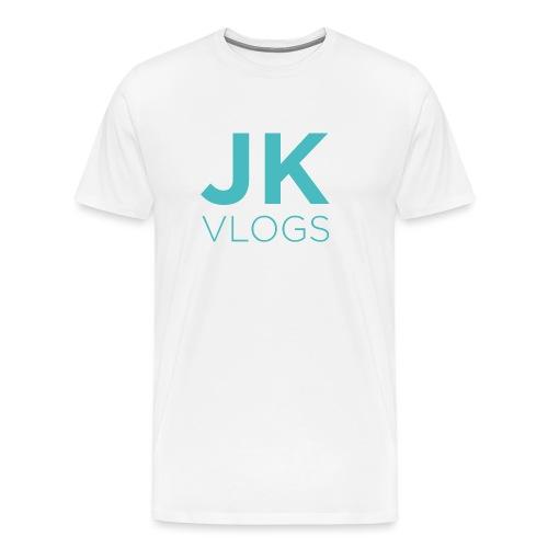 JK Vlogs Logo - Men's Premium T-Shirt