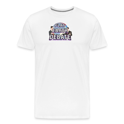Flat Earth Debate - Men's Premium T-Shirt