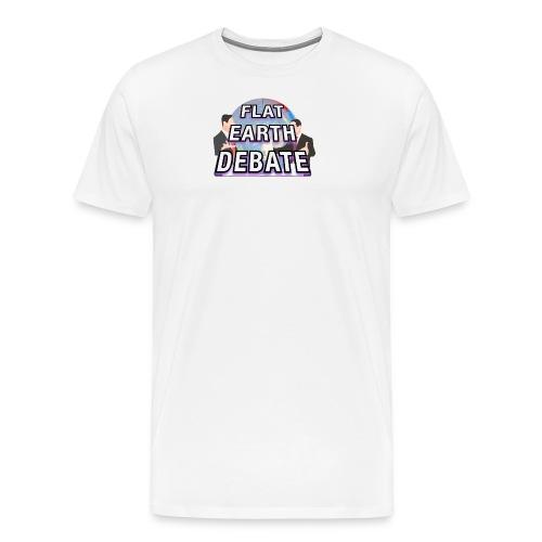 Flat Earth Debate - Men's Premium T-Shirt