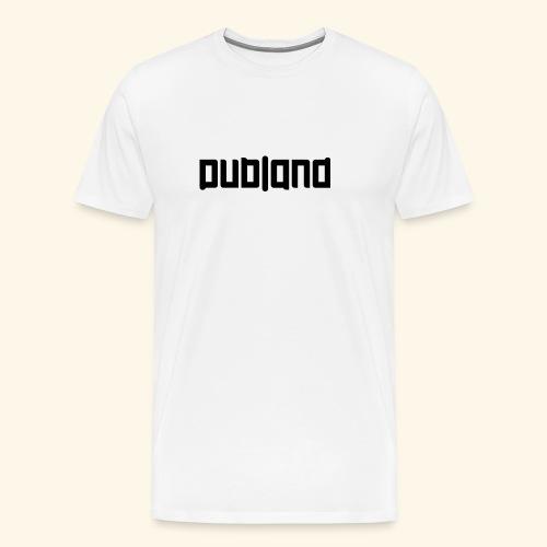 DublandLogoSRTct - Premium-T-shirt herr