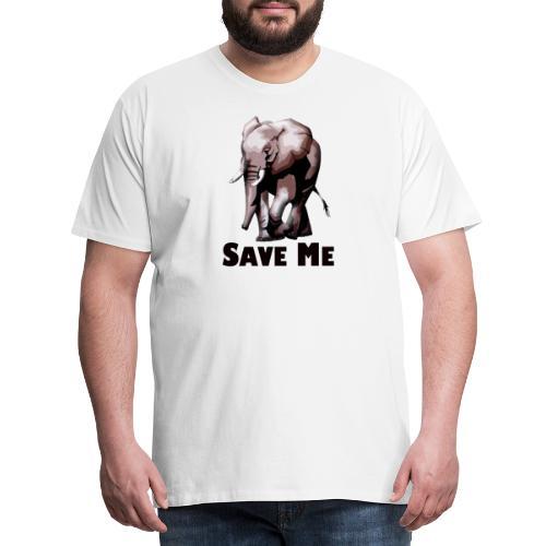 Elefant - SAVE ME - Männer Premium T-Shirt