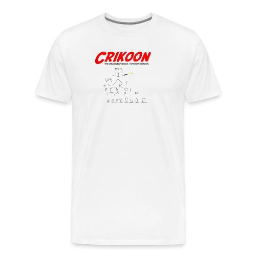 beerdude-png - Men's Premium T-Shirt