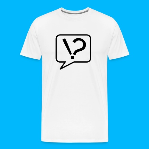 Schlaumacher logo trans png - Männer Premium T-Shirt