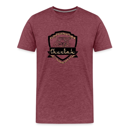 Cheetah Shield - Men's Premium T-Shirt