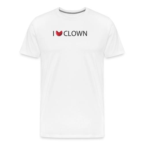I Nose clown - Camiseta premium hombre