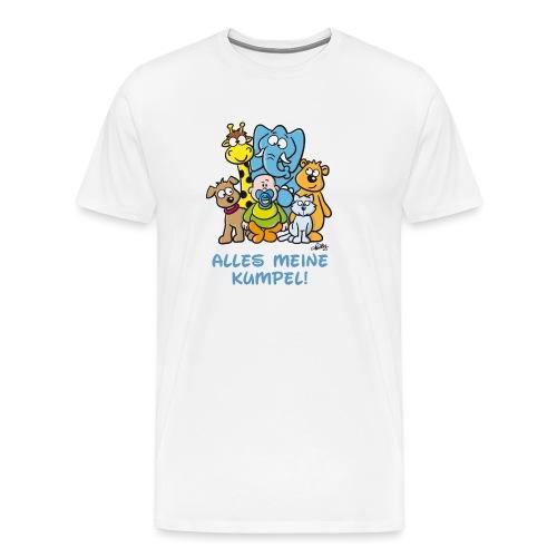 Alles meine Kumpel - Männer Premium T-Shirt