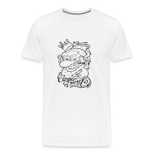 Carpe Diem - Comics Design - T-shirt Premium Homme
