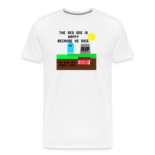 Red n Blue tshirt - Men's Premium T-Shirt