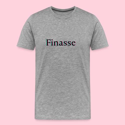 Finasse logo - Mannen Premium T-shirt