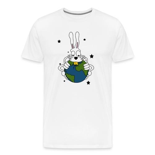 Lapin bouffeur de planète - T-shirt Premium Homme