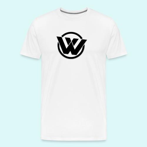 WAVE LOGO BLACK - Men's Premium T-Shirt