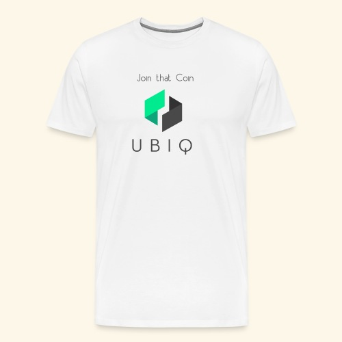 UBIQ join that coin - Männer Premium T-Shirt