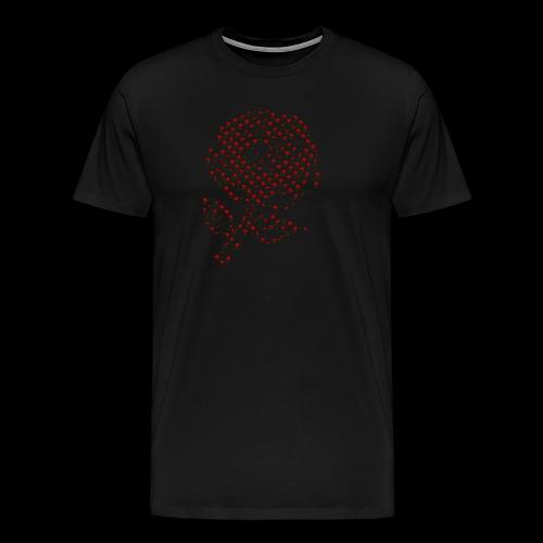 Rose aus Rosen - Männer Premium T-Shirt