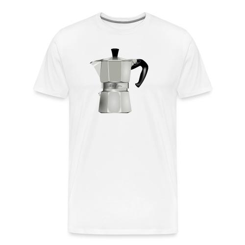 Kaffeekanne - Männer Premium T-Shirt