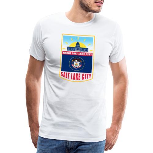 Utah - Salt Lake City - Men's Premium T-Shirt