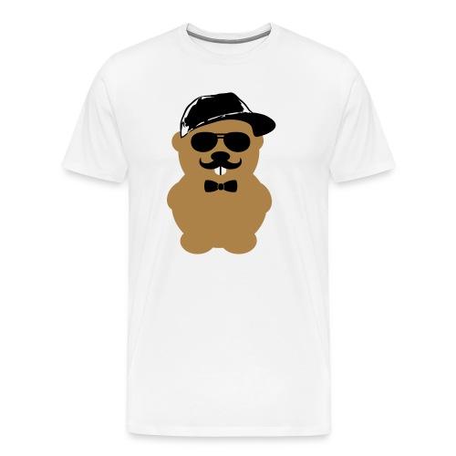 Hipster Hamster 2 - Männer Premium T-Shirt