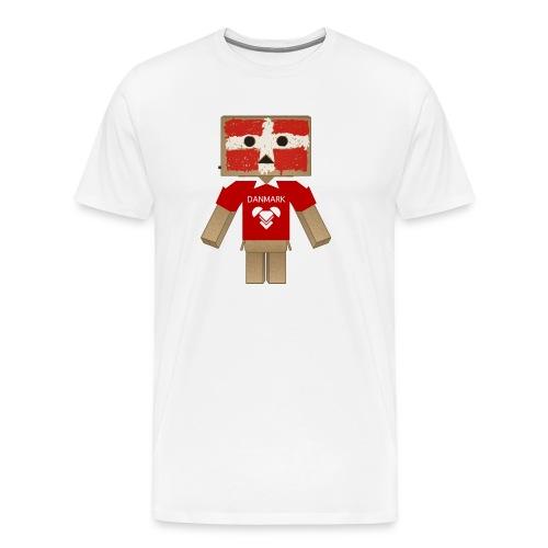 DANMARK EURO 2012 LIMITED - Herre premium T-shirt