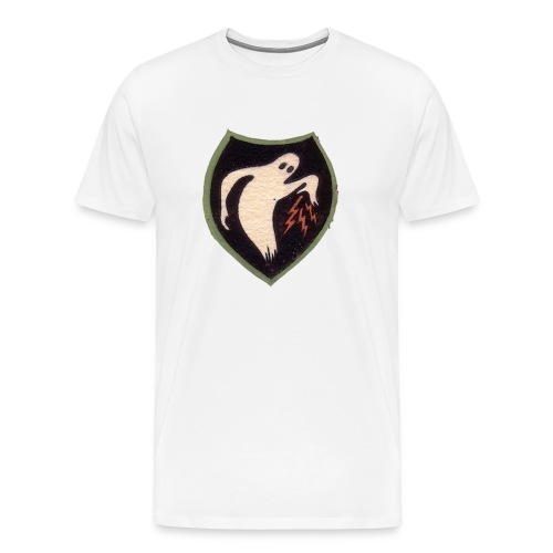 Ghostarmypatch png - Men's Premium T-Shirt