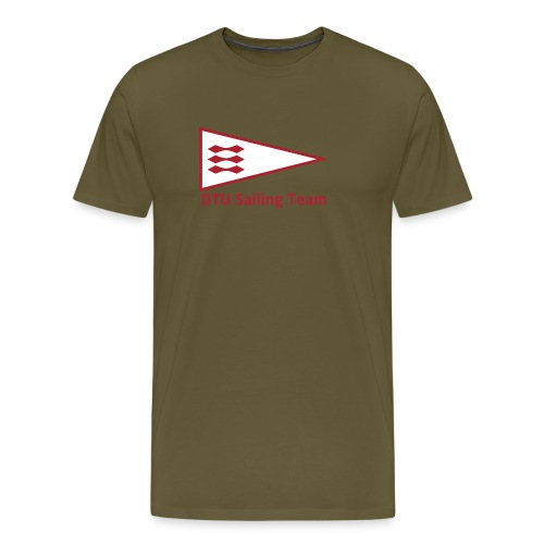 DTU Sailing Team Official Workout Weare - Men's Premium T-Shirt