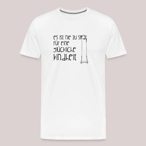 12-30 glückliche Kindheit - Männer Premium T-Shirt