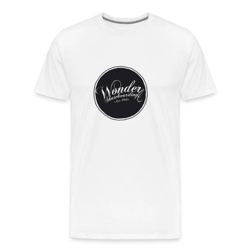 Wonder T-shirt - oldschool logo - Herre premium T-shirt