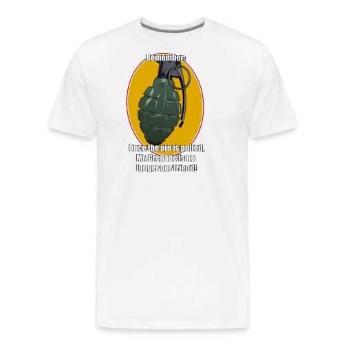 MrGrenade - Männer Premium T-Shirt