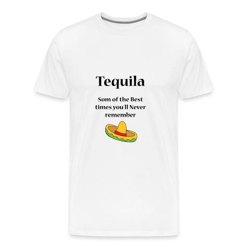Tequila - Premium-T-shirt herr