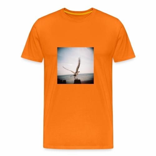 Original Artist design * Seagull - Men's Premium T-Shirt