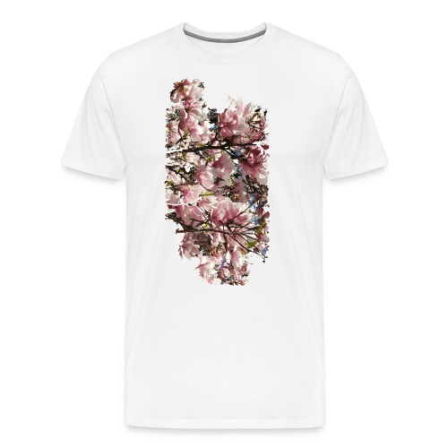 Tree Flower - Männer Premium T-Shirt