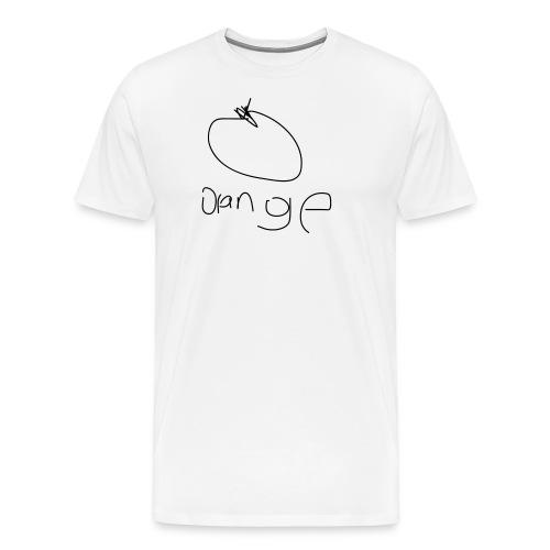 orange - Men's Premium T-Shirt