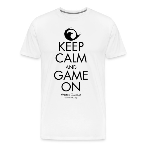 VG Keep Calm Black - Men's Premium T-Shirt
