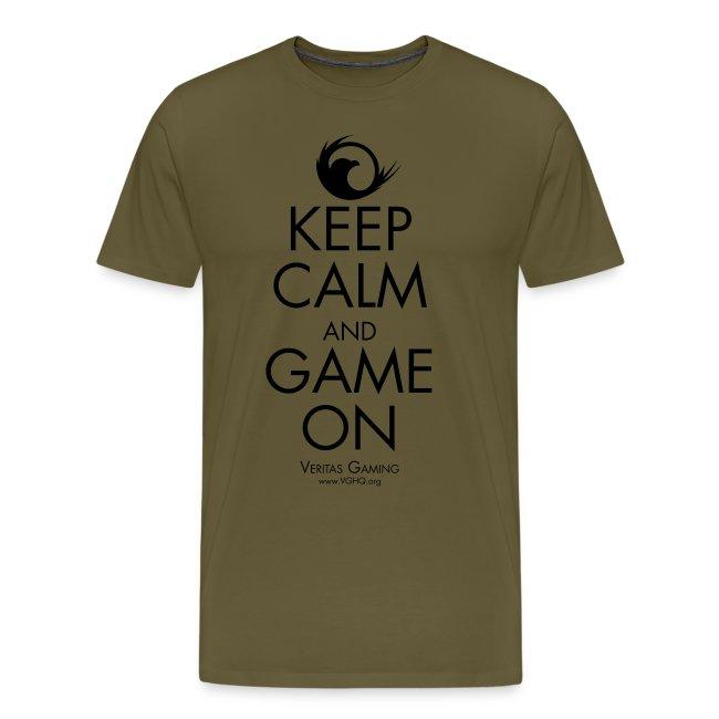 VG Keep Calm Black